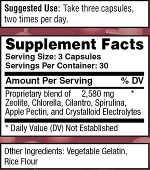 royal detox ingredients